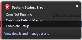 System Status: Error